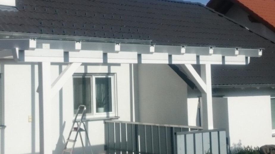 Lohnabbund Holz Haus Beispiel