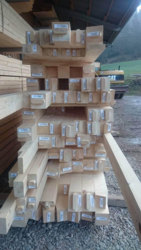 Lohnabbund Holzstapel