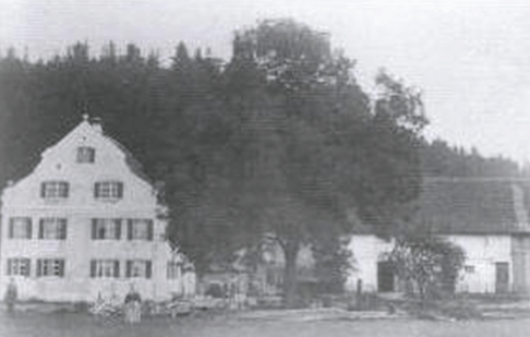 Sägewerk Held im Jahr 1900